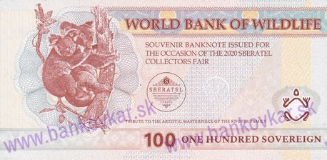 100 Sovereign 2020 World Bank of Wildlife