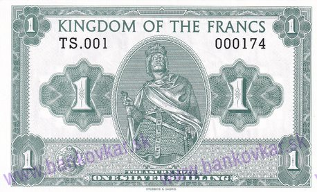 1 Kingdom of the Francs 2016 UNC