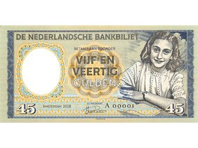 45 Gulden 2018 Netherlands UNC