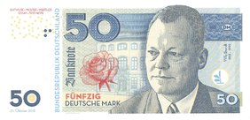 50 Mark 2018 Willy Brandt UNC