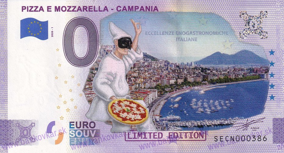 PIZZA E MAZZARELLA - CAMPANIA SECN 2020-1 KOLOR