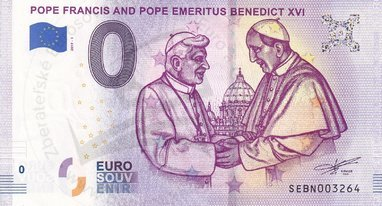 Pope Francis and pope Benedict XVI (SEBN 2019-1)