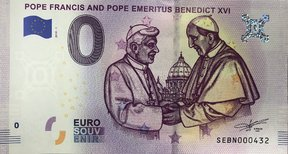 Pope Francis and pope Benedict XVI SEBN 2019-1