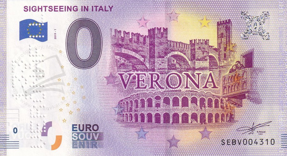 Sightseeing in Italy SEBV 2019-1 /133 VERONAFIL/